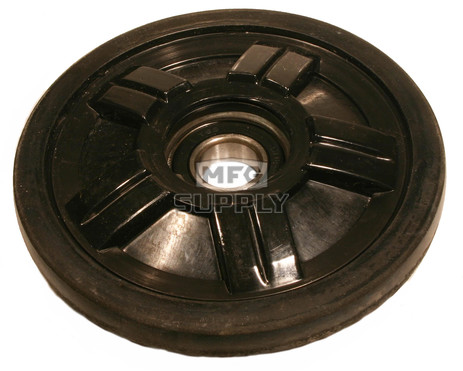 "04-1141-20 - Ski-Doo 5.550"" (141mm) Black Idler Wheel with 6004 series bearing (20mm ID)"
