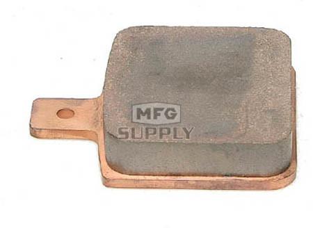 05-152-41FM-H2 - Ski-Doo Full Metal Brake Pad. For Wilwood hydraulic caliper. Sold each