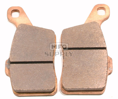 Full metal brake pads for most 08 newer ski doo for Metal craft trailers parts