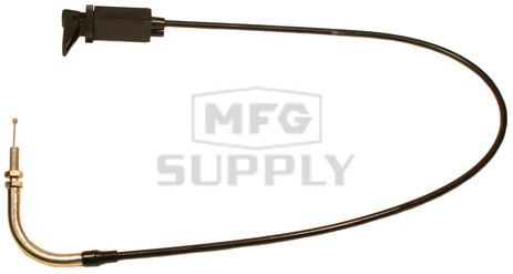 "05-938-1 - 28"" Single Mikuni Choke Control Cable with 90 degree elbox"
