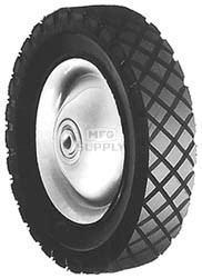 "6-271 - 8"" X 1.75"" Snapper 11082 Steel Wheel with 7/16"" ID Bearing"