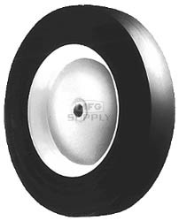 "6-2965 - 6"" X 1.50"" Lawn-Boy 678636 Steel Wheel with 1/2"" ID Oilite Bushing"