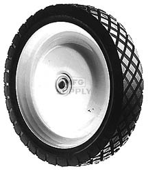 "6-2986 - 9"" X 1.75"" Snapper 12603, 146071, 7012603 Steel Wheel with 7/16"" ID Ball Bearing"