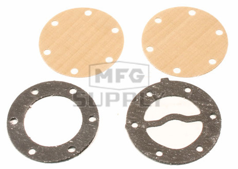 07-450-1 - Mikuni Round Fuel Pump Repair Kit. All old style round single pumps.