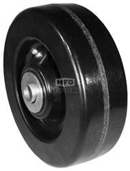"7-8215 - 6"" x 2"" John Deere AM107558 Deck Wheel with 5/8"" ID Reducer Bushing"