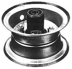"""8-372 - 5"""" Front Demountable Wheel Assembly"""