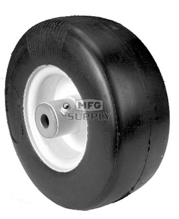 "8-9898 - Puncture Proof 9x350x4 Tire Wheel Asm. 4-1/2"" centered hub. 3/4"" ID."