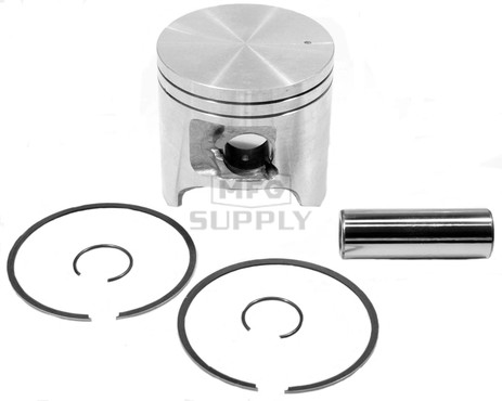 09-679 - OEM Style Piston assembly. 98-00 Arctic Cat ZR/ZL/Powder Special 500cc twin.