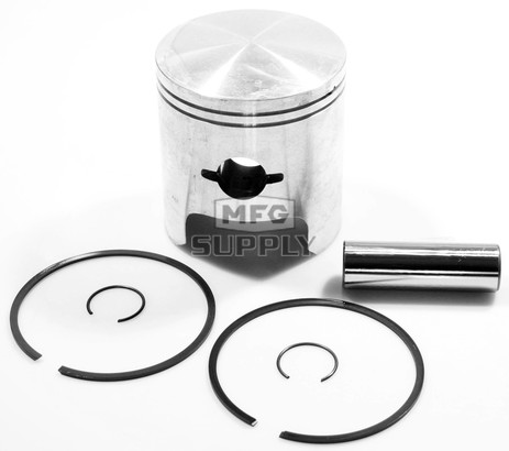 09-691 - OEM Style Piston assembly for 86-90 Arctic Cat 500 twin fan.