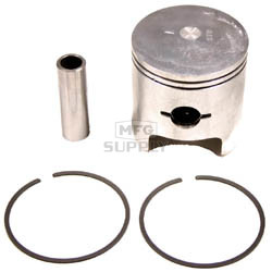 09-693-2 - OEM Style Piston assembly. Arctic Cat 250cc single and 500cc twin. .020 oversized