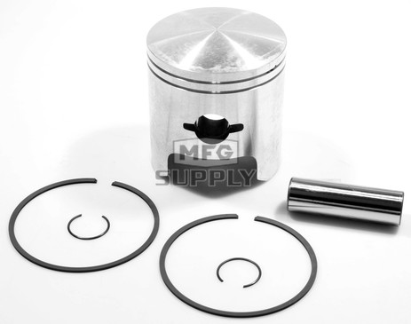 "09-699-1  - OEM Style Piston assembly. Arctic Cat 530cc twin. .010"" oversized."