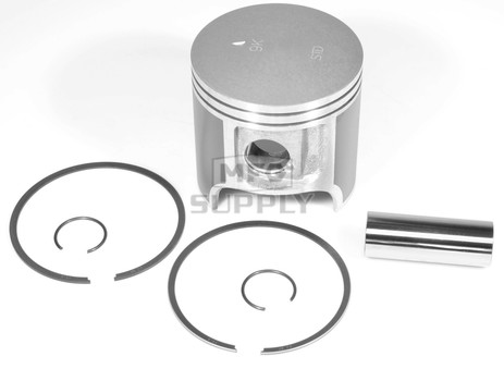 09-721 - OEM Style Piston assembly for 98-01 Polaris 593 twin. Std size.