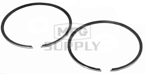 R09-727-2 - OEM Style Piston Rings for 99-06 Polaris 550 Twin. .020 oversized.