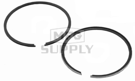 R09-751-1 - OEM Style Piston Rings for 80-06 Ski-Doo 369/380 twin. .010 oversized