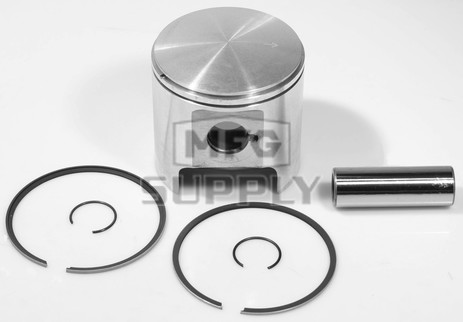 09-752 - OEM Style Piston assembly for some 84-07 Ski-Doo 440cc fan cooled engines. Std size