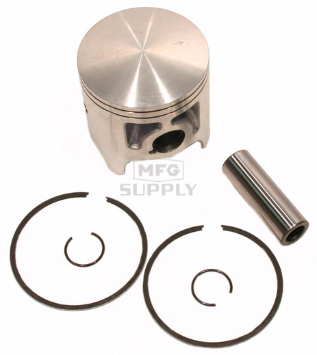 09-826-2 - OEM Style Piston assembly. 94-99 Yamaha 598 twin. .020 oversized