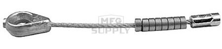 "10-10703 - Snapper Deck Lift Cable. Fits 33""-42"" decks. 5-5/8"" length"
