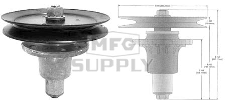 10-13006 - Spindle Assembly replaces Exmark 1-644092