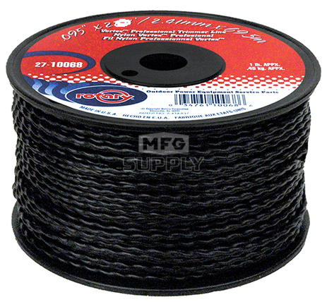 27-10068-Black Vortex Professional Trimmer Line
