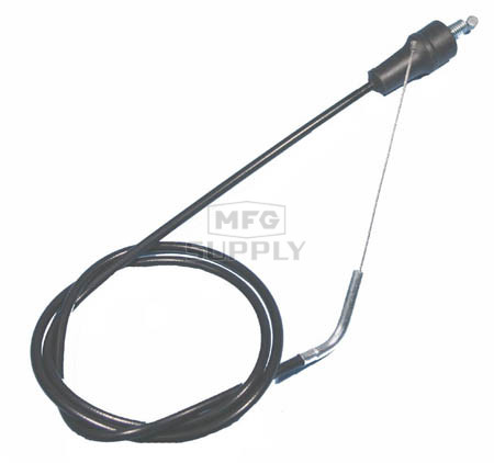 104-114H - Suzuki Dirt Bike Throttle Cable. 89-93 RM125, 89-92 RM250/RMX250