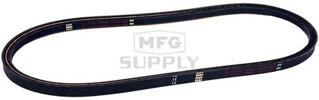 "12-10825 - Yazoo/Kees Deck Belt. Fits 72"" Max 2 . Replaces 105477. 5/8"" x 198-1/2"""