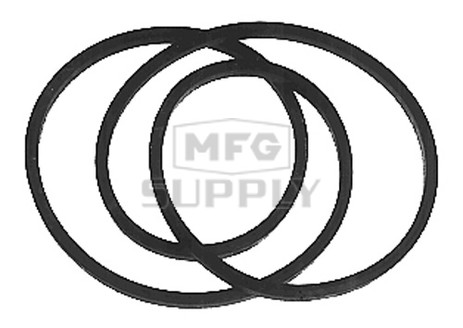 12-11483 - Secondary Drive Belt for MTD auto drive step thru frame tractors