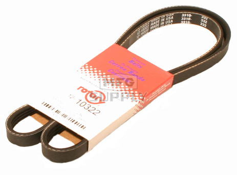 12-10322 - Ground Drive Belt replaces Walker 7248