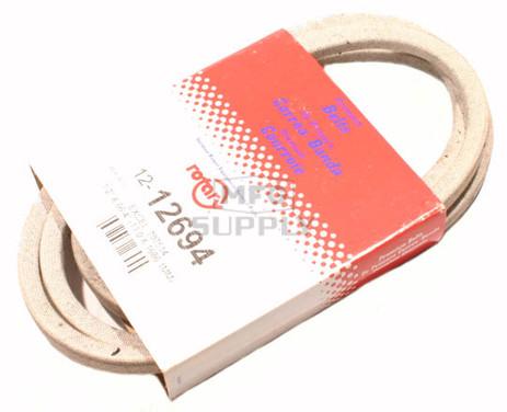 12-12694 - Hustler Deck Drive Belt. Replaces 797514