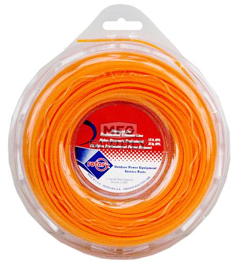 27-12138 -Orange Diamond Cut Professional Trimmer Line