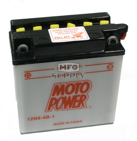 12N9-4B-1 - Heavy Duty Battery.