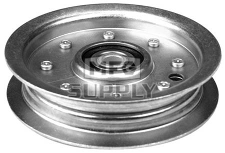 "13-11633 - Idler Pulley for AYP 48"" decks from 2000-up."