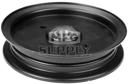 "13-12696 - Hustler Idler Pulley. For 52""/60""/72"" Super Z drive unit. Replaces 781856."