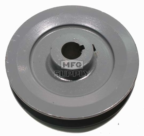 "13-5881 - 4"" X 5/8"" Cast Iron Pulley"