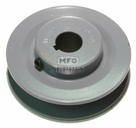 "13-5982 - 3-1/2"" X 3/4"" Cast Iron Pulley"