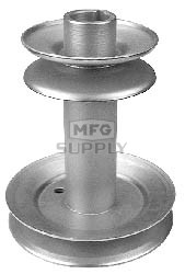 13-9590 - MTD 756-0658 Double Engine Pulley