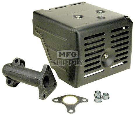 18-14449 - Muffler fits Honda models GX340 & GX390