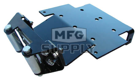 1524SW - Winch Mount Plate for Honda Rincon ATVs