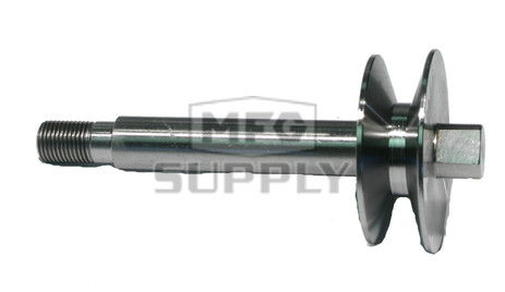 16-1248 - Edger Shaft w/Pulley Replaces Mclane 2033