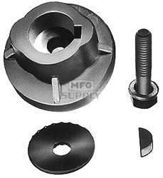 "17-1184 - Sensation & Bob Cat blade adaptor. For 1"" crankshaft"