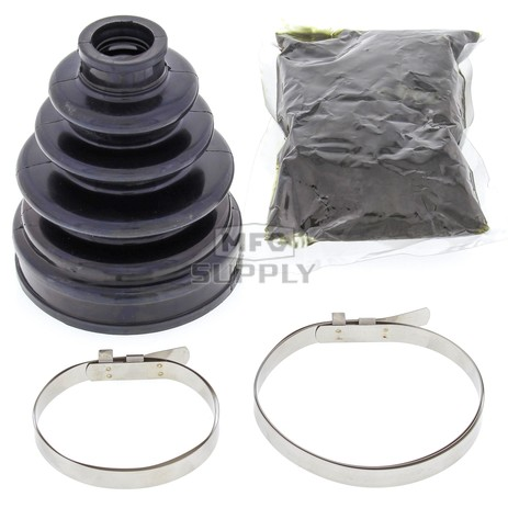 19-5012-FI Aftermarket Front Inner CV Boot Repair Kit for Various 1995-2005 Kawasaki & Yamaha Model ATV's