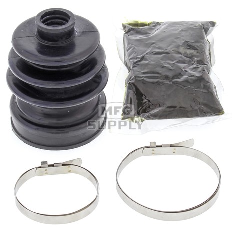19-5016-FI Aftermarket Front Inner CV Boot Repair Kit for Some 2008-2018 Suzuki 400, 500, and 750 4WD Model ATV's