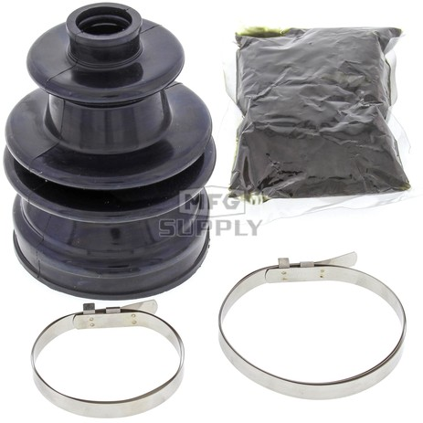 19-5017-RO Aftermarket Rear Outer CV Boot Repair Kit for Various 2008-2019 Kawasaki, Polaris, Gem, and Yamaha ATV, LEV, and  UTV Models