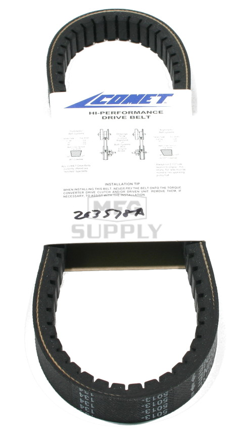 "203578A-W1 - Comet 340 Series Belt. 27-23/64"" OC."