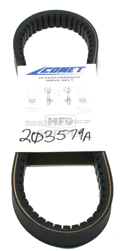 "203579A-W1 - Comet 340 Series Belt. 28-21/64"" OC."