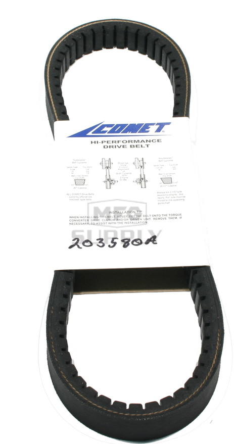 "203580A-W1 - Comet 340 Series Belt. 29-9/32"" OC."