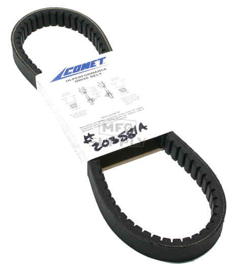 "203581A-W1 - Comet 340 Series Belt. 30-1/4"" OC."
