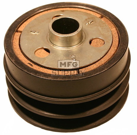 "212184A - Comet Industrial Cast Iron Double Pulley Centrifugal Clutch. 1"" bore, 1/4"" key"
