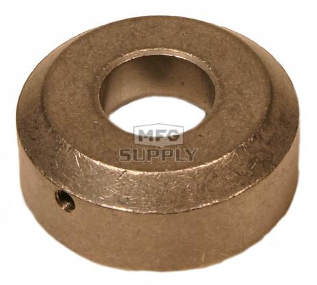213568S - Hoffco / Comet Silver Metal Dirt Cap