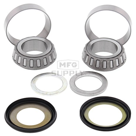 22-1029 Aftermarket Steering Bearing & Seal Kit for Various 1981-1987 Honda 200, 250, and 350 Model 3 Wheelers