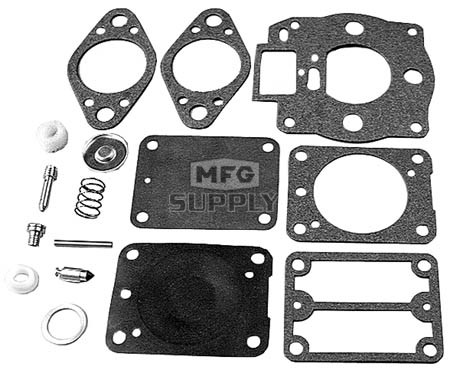 22-10938 - Carb Overhaul Kit replaces B&S 693503.